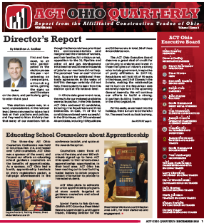 December 2016 ACT Ohio Quarterly Newsletter
