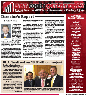 July 2016 ACT Ohio Quarterly Newsletter