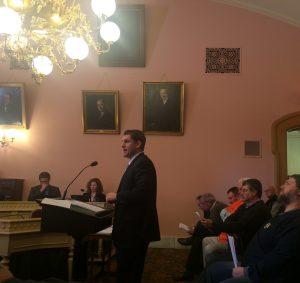 ACT Ohio Executive Director Szollosi Testifying