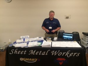 ACT Ohio Veterans Career Fair Sheet Metal Workers