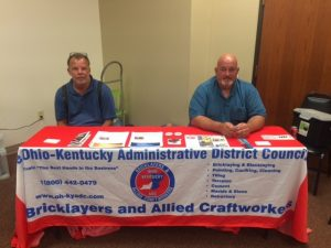ACT Ohio Veterans Career Fair Bricklayers