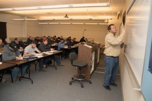ACT Ohio apprentices receive both on-the-job and classroom instruction.