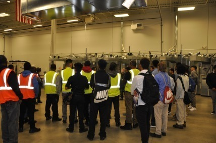 Cleveland area high school and college students learn about the benefits of apprenticeships at Sheet Metal Workers Local 33 Training Center in Cleveland.Meanwhile, the construction and manufacturing industries continue to seek individuals to fill positions being left open by the retirement of Baby Boomers.