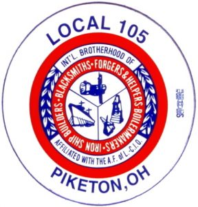 Boilermakers Local 105 Piketon