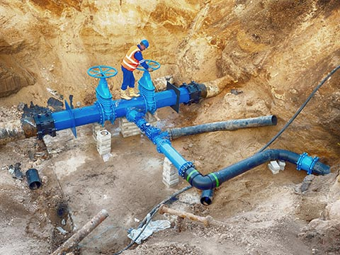 Plumbers, Pipefitters, And Steamfitters Install And Repair Pipes That Carry  Liquids Or Gases To, From, And Within Businesses, Homes, And Factories.
