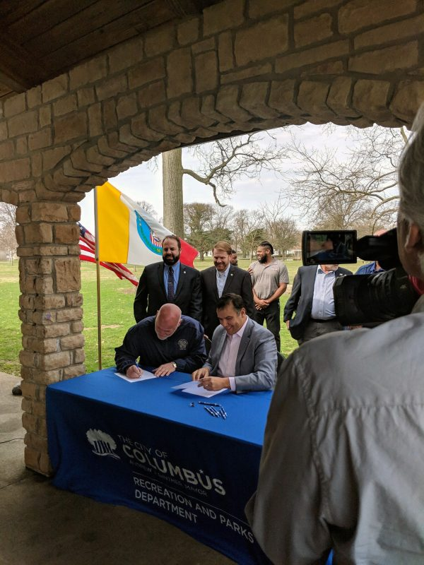 Columbus Building Trades CBA Mayor Ginther