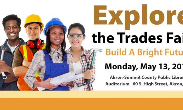 Mayor Horrigan and Summit County Executive Shapiro to speak at Akron Meet the Trades Expo