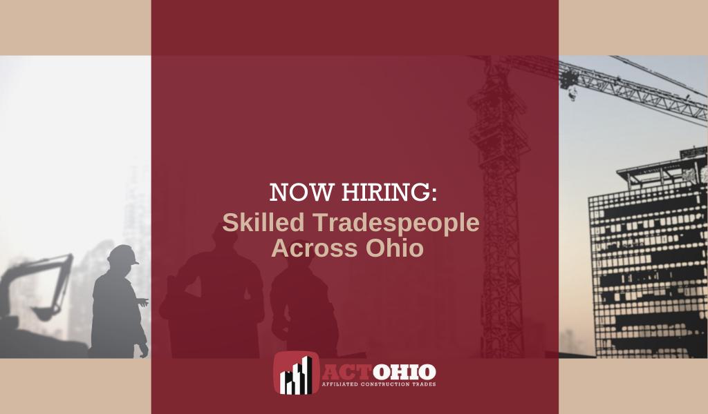 Ohio Building Trades Hiring Despite COVID Resurgence
