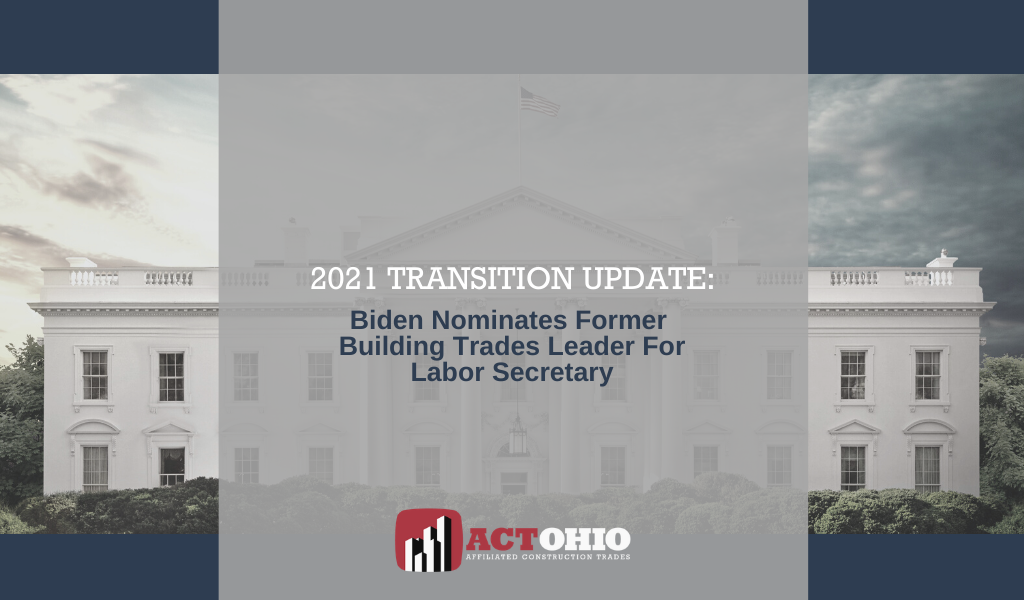 Biden Names Labor Secretary
